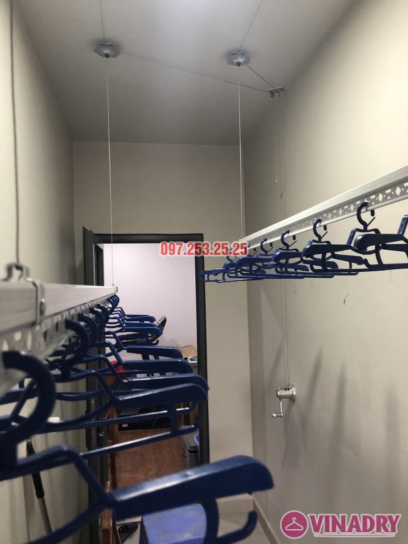 Lắp giàn phơi Từ Liêm nhà anh Dự, căn 2402 tòa T3A-N03 Ngoại Giao Đoàn - 04