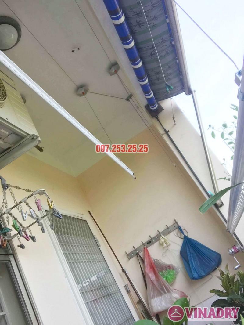Lắp giàn phơi Hòa Phát KS950 nhà chị Loan, chung cư K2 Việt Hưng, Long Biên, Hà Nội - 05