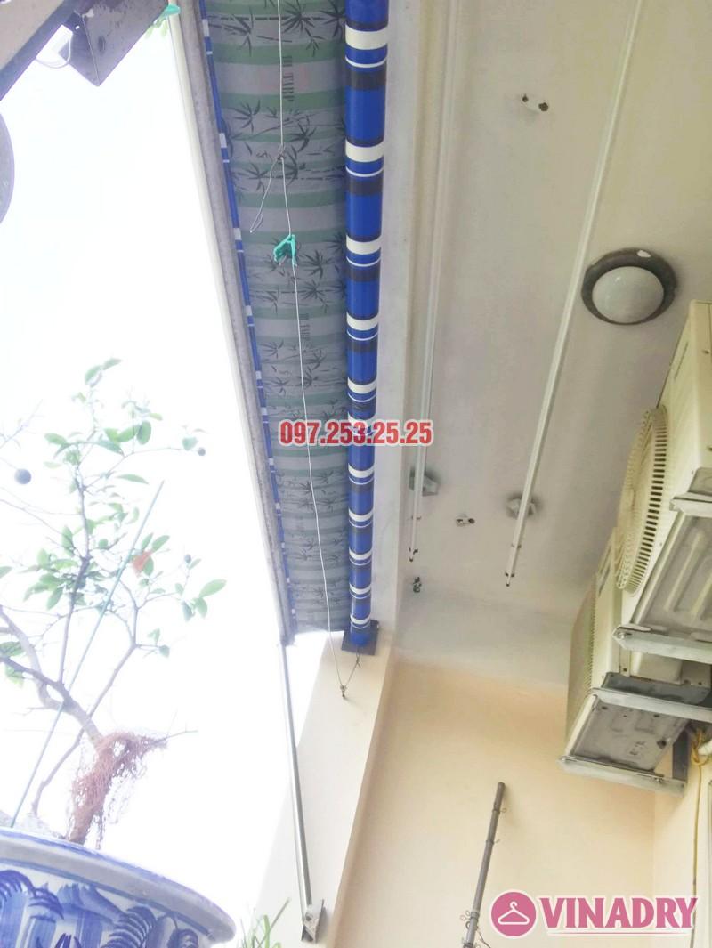 Lắp giàn phơi Hòa Phát KS950 nhà chị Loan, chung cư K2 Việt Hưng, Long Biên, Hà Nội - 07