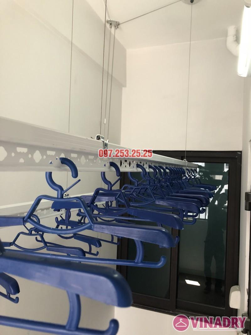 Lắp giàn phơi quần áo nhà chị Thảo, căn 402 tòa C chung cư Valencia Garden, Long Biên, Hà Nội - 05