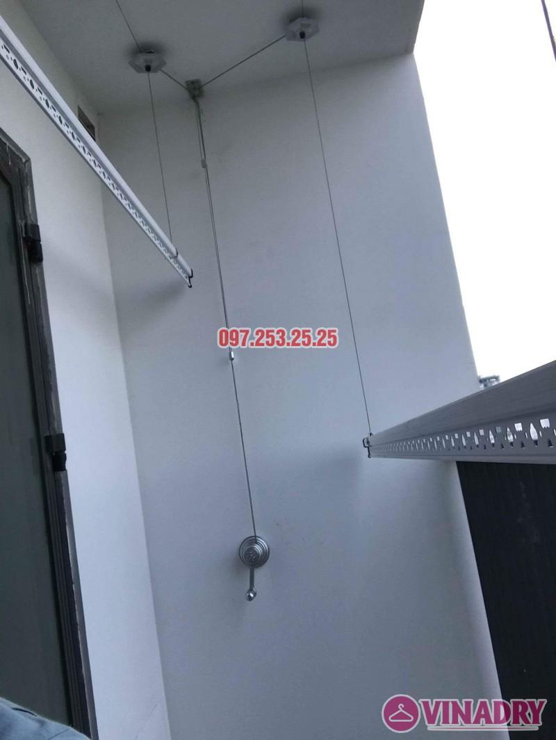 Lắp giàn phơi Hòa Phát KS950 nhà anh Tiến, tòa, G5 chung cư Five Star Kim Giang - 03