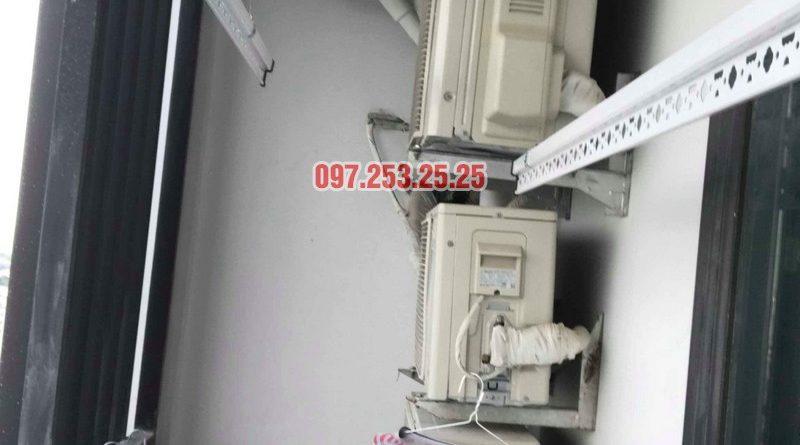 Lắp giàn phơi Hòa Phát KS950 nhà anh Tiến, tòa, G5 chung cư Five Star Kim Giang - 04