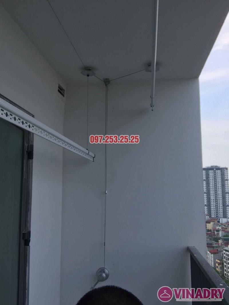 Lắp giàn phơi Hòa Phát KS950 nhà anh Tiến, tòa, G5 chung cư Five Star Kim Giang - 05