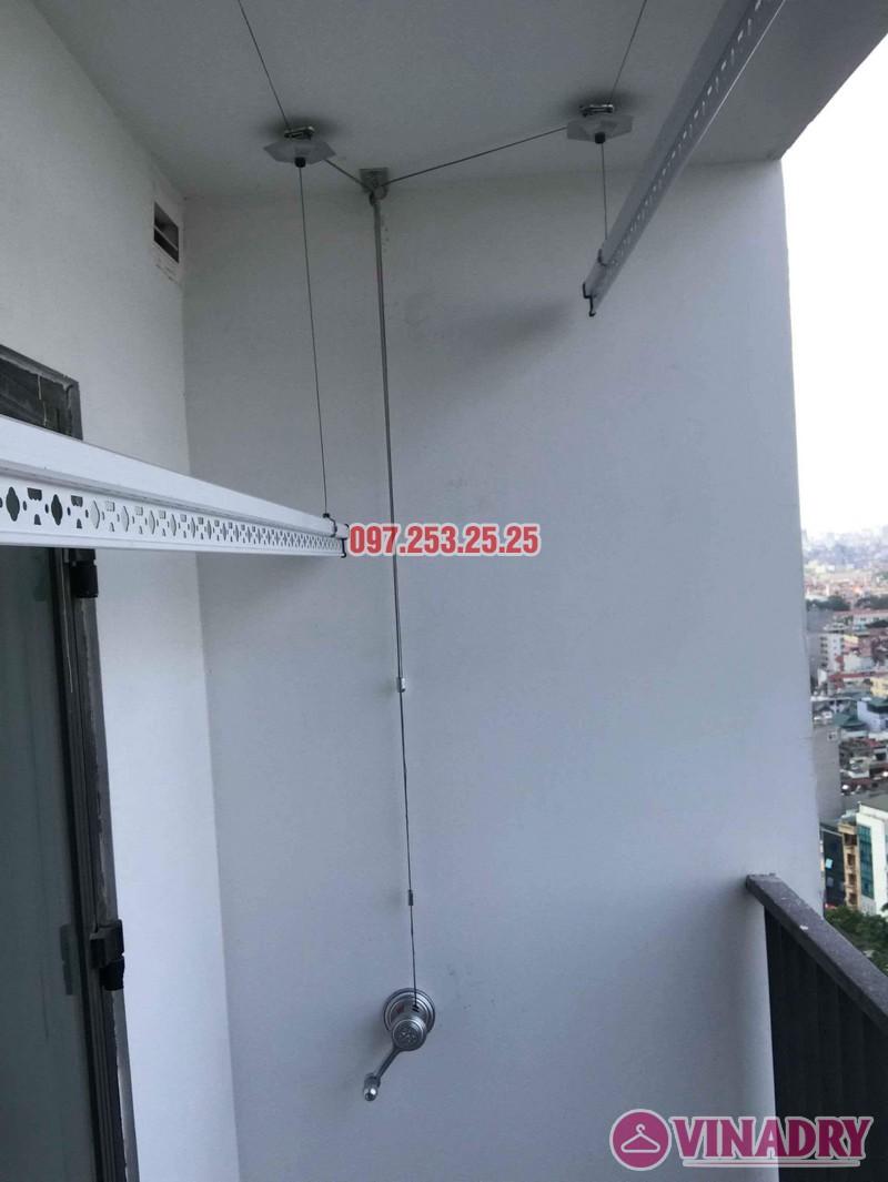 Lắp giàn phơi Hòa Phát KS950 nhà anh Tiến, tòa, G5 chung cư Five Star Kim Giang - 06