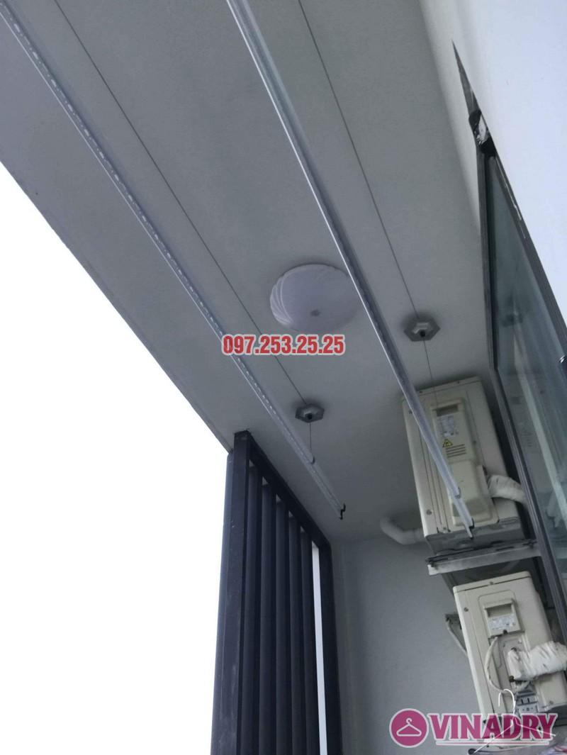 Lắp giàn phơi Hòa Phát KS950 nhà anh Tiến, tòa, G5 chung cư Five Star Kim Giang - 08