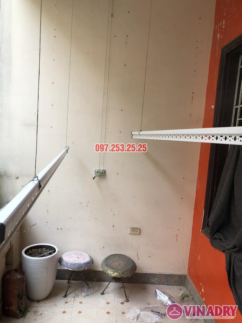 Lắp giàn phơi Đống Đa nhà anh Nghĩa, ngõ 82 Nguyễn Phúc Lai, Hoàng Cầu - 07