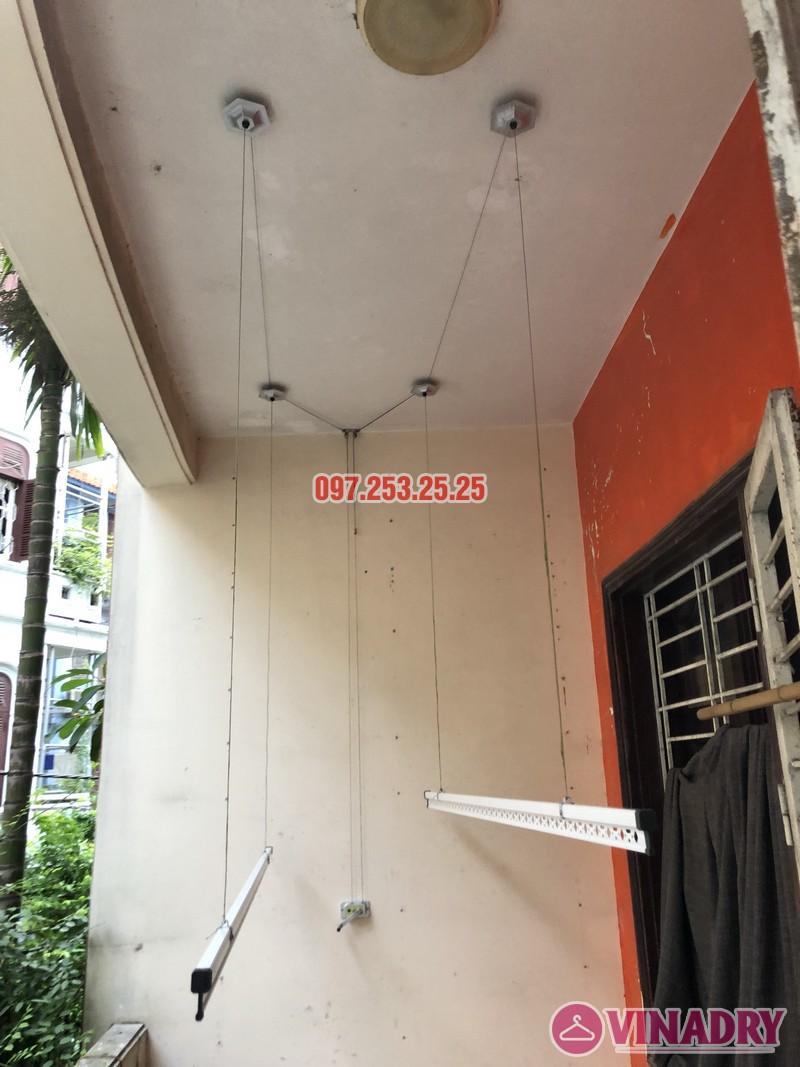 Lắp giàn phơi Đống Đa nhà anh Nghĩa, ngõ 82 Nguyễn Phúc Lai, Hoàng Cầu - 05