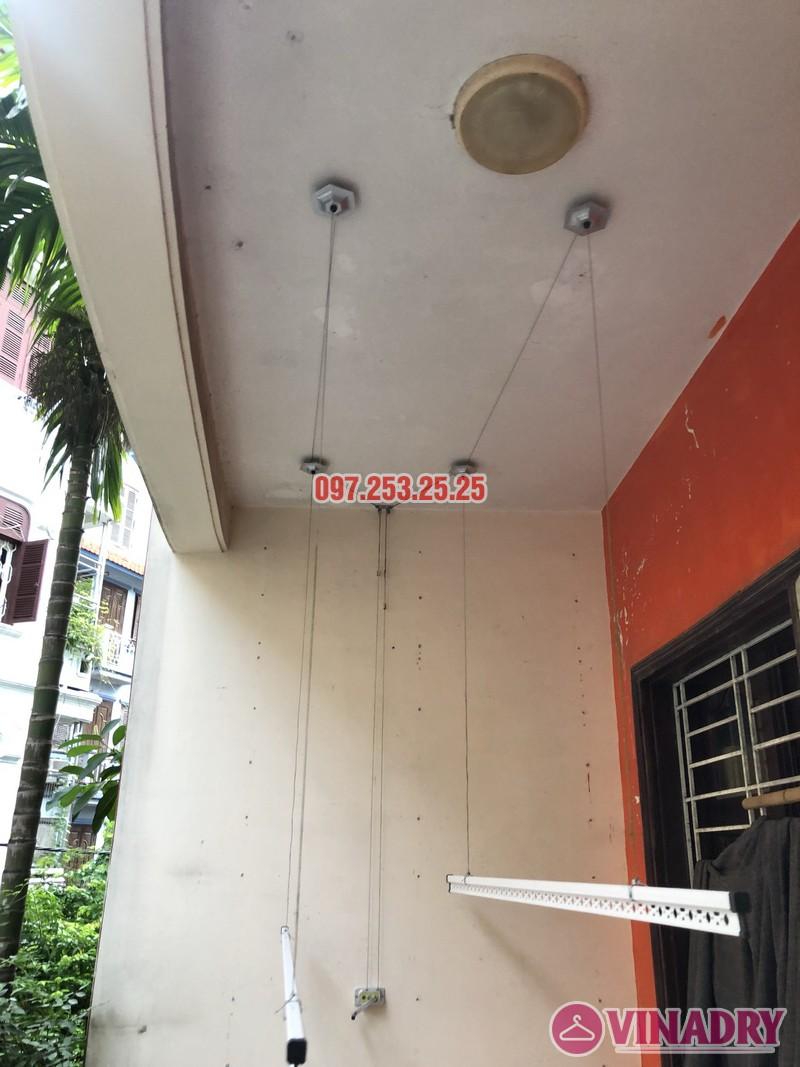 Lắp giàn phơi Đống Đa nhà anh Nghĩa, ngõ 82 Nguyễn Phúc Lai, Hoàng Cầu - 03