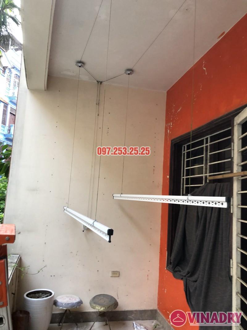 Lắp giàn phơi Đống Đa nhà anh Nghĩa, ngõ 82 Nguyễn Phúc Lai, Hoàng Cầu - 02