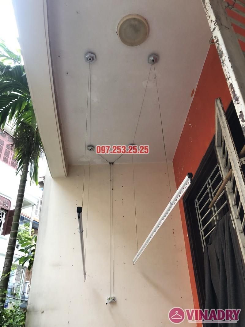 Lắp giàn phơi Đống Đa nhà anh Nghĩa, ngõ 82 Nguyễn Phúc Lai, Hoàng Cầu - 01