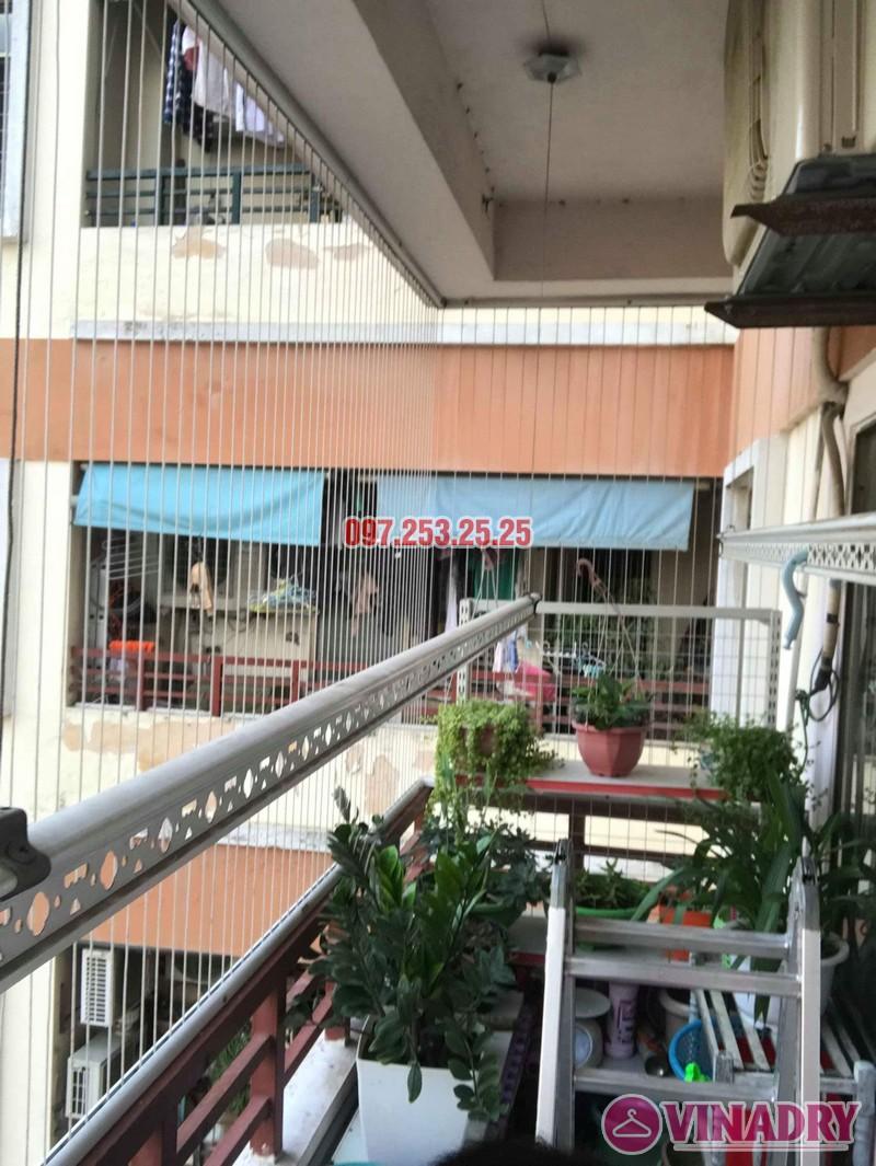 Sửa giàn phơi quần áo nhà anh Hòa, chung cư 101 Láng Hạ, Đống Đa, Hà Nội - 03