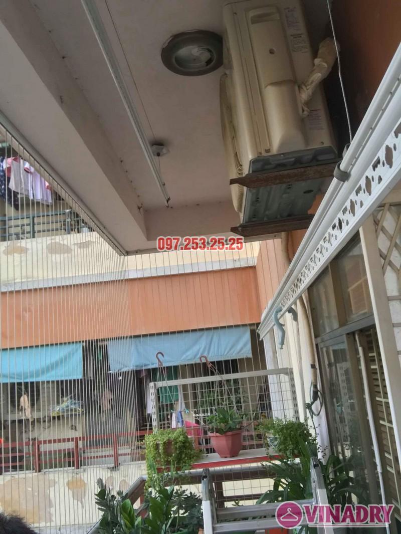 Sửa giàn phơi quần áo nhà anh Hòa, chung cư 101 Láng Hạ, Đống Đa, Hà Nội - 06