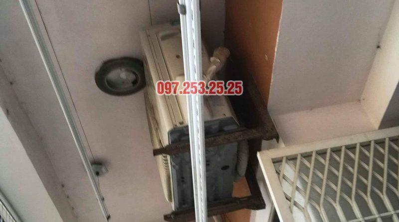 Sửa giàn phơi quần áo nhà anh Hòa, chung cư 101 Láng Hạ, Đống Đa, Hà Nội - 07