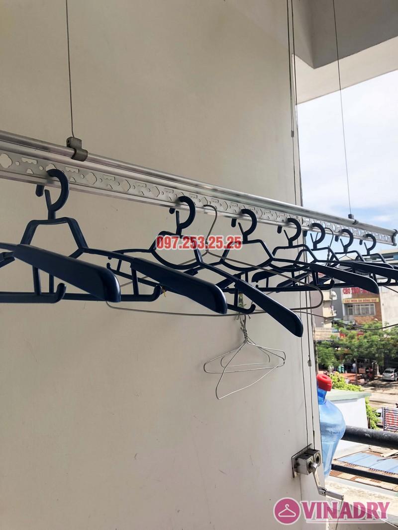 Sửa giàn phơi quần áo tại Hà Đông nhà chị Ngọc, 3h1, CT1 Chung cư Viện Bỏng - 01