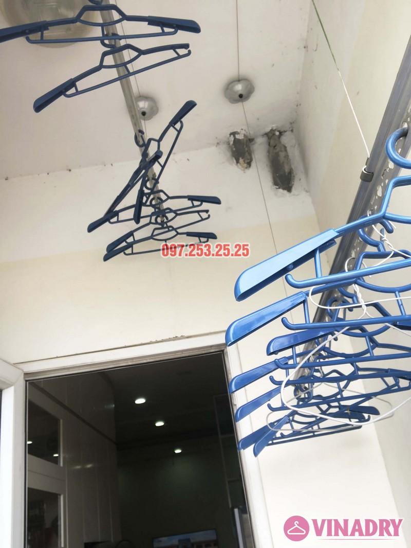 Sửa giàn phơi quần áo tại Hà Đông nhà chị Ngọc, 3h1, CT1 Chung cư Viện Bỏng - 02
