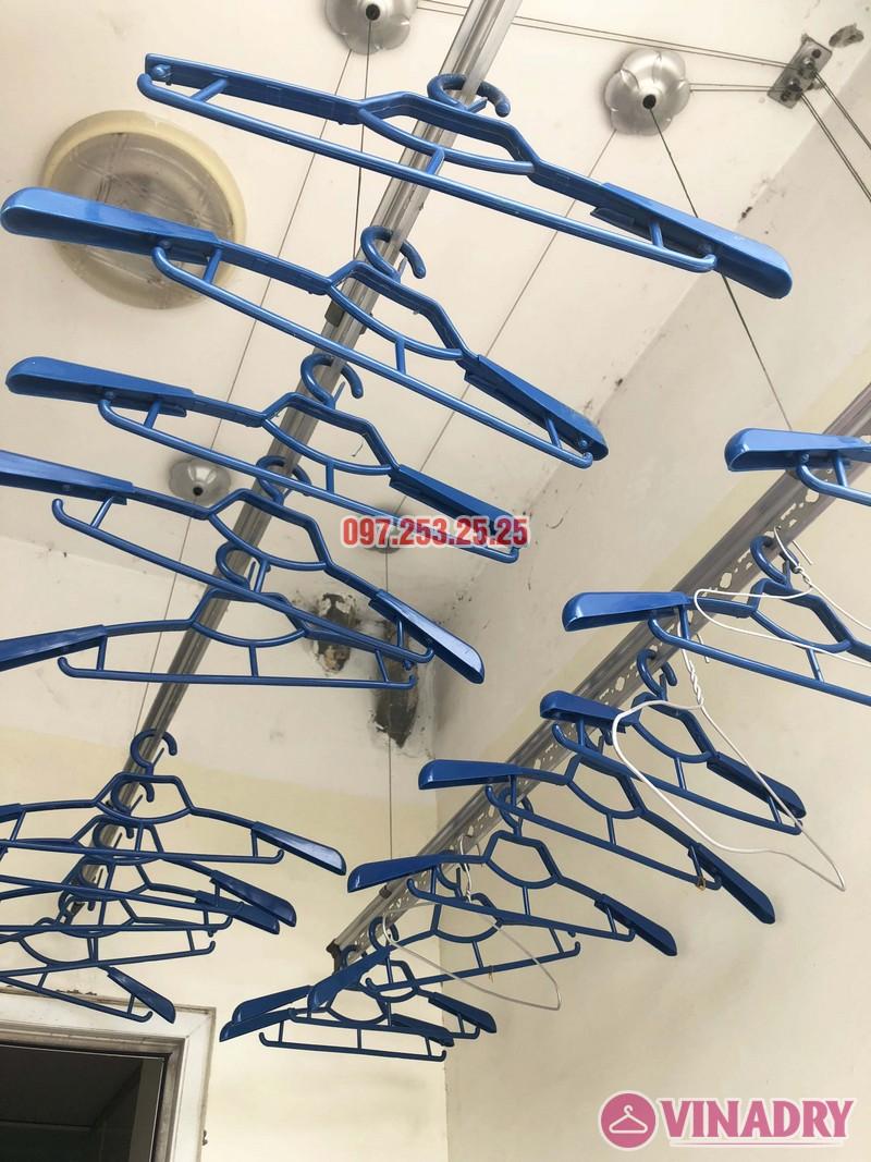 Sửa giàn phơi quần áo tại Hà Đông nhà chị Ngọc, 3h1, CT1 Chung cư Viện Bỏng - 03