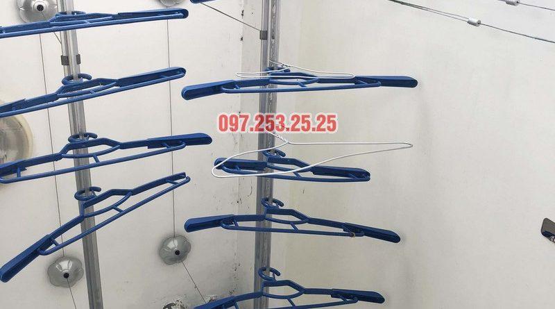 Sửa giàn phơi quần áo tại Hà Đông nhà chị Ngọc, 3h1, CT1 Chung cư Viện Bỏng - 05