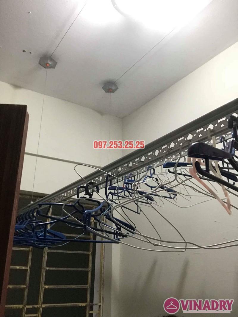 Sửa giàn phơi thông minh tại Thanh Trì, nhà anh Hiếu, chung cư CT10 Đại Thanh - 01