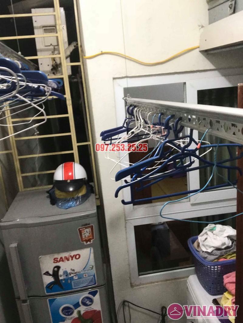 Sửa giàn phơi thông minh tại Thanh Trì, nhà anh Hiếu, chung cư CT10 Đại Thanh - 03