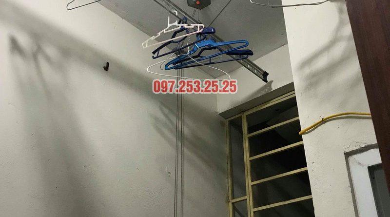 Sửa giàn phơi thông minh tại Thanh Trì, nhà anh Hiếu, chung cư CT10 Đại Thanh - 07