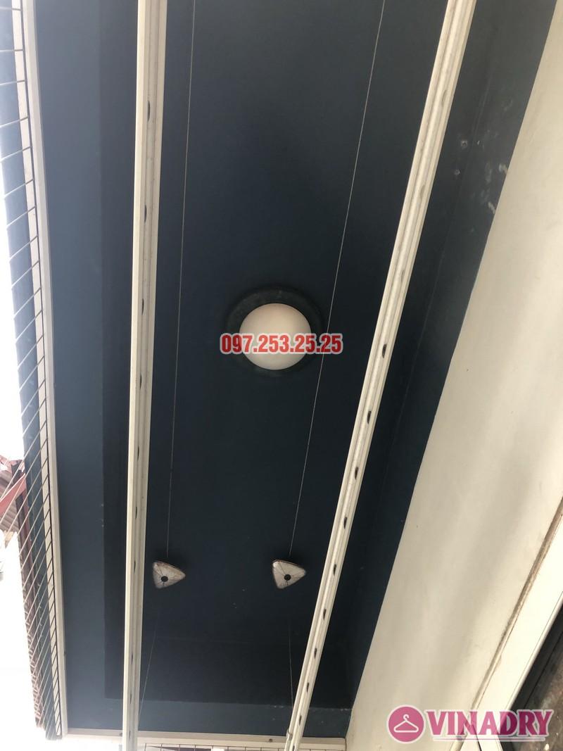 Sửa giàn phơi thông minh tại Tây Hồ, nhà anh Chiến, số 79 ngõ 35 Đặng Thai Mai - 01