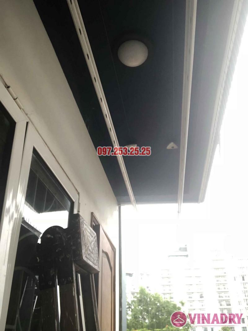Sửa giàn phơi thông minh tại Tây Hồ, nhà anh Chiến, số 79 ngõ 35 Đặng Thai Mai - 02