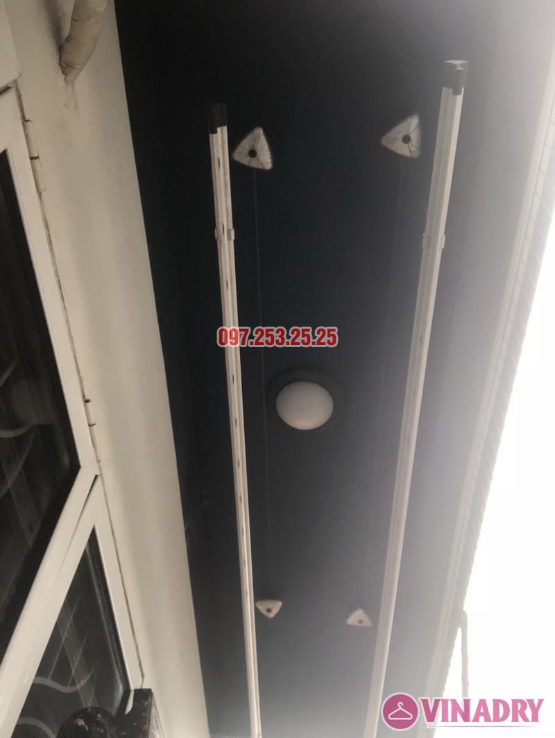 Sửa giàn phơi thông minh tại Tây Hồ, nhà anh Chiến, số 79 ngõ 35 Đặng Thai Mai - 04