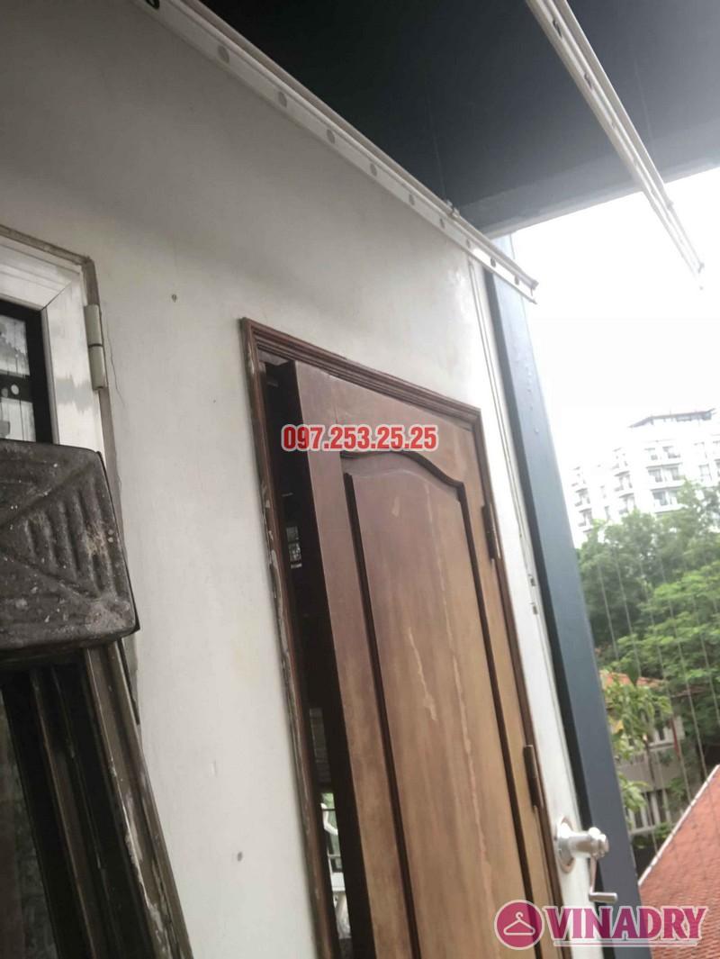 Sửa giàn phơi thông minh tại Tây Hồ, nhà anh Chiến, số 79 ngõ 35 Đặng Thai Mai - 06