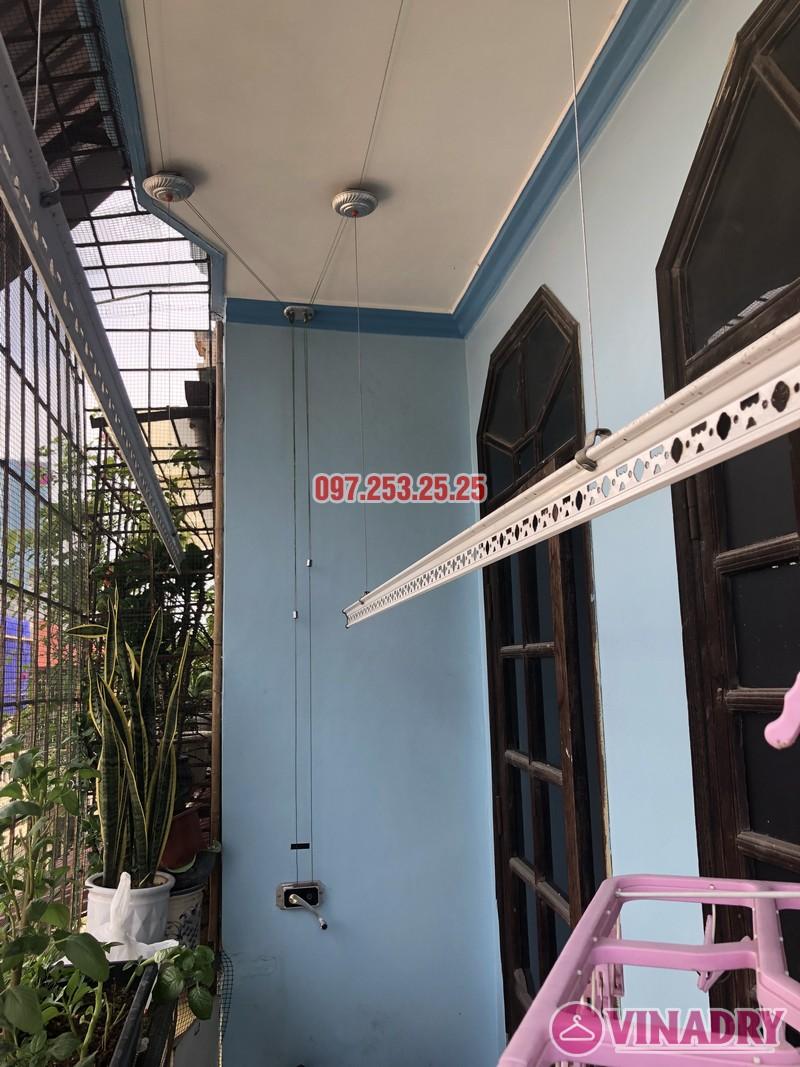 Thay dây cáp giàn phơi quần áo nhà chị Tú, số 24, ngõ 6 Đội Nhân, Ba Đình, Hà Nội - 01