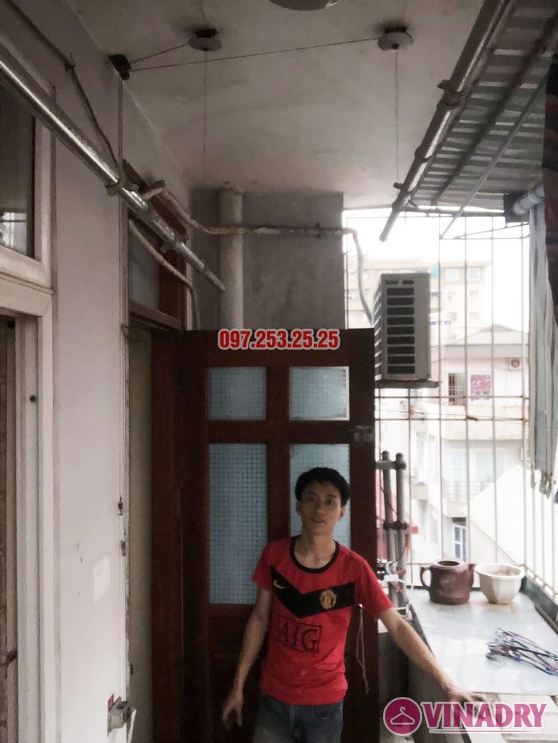 Sửa giàn phơi quần áo nhà anh Hải, căn 1508 tòa OCT2 KĐT Xuân Phương, Nam Từ Liêm, Hà Nội - 03