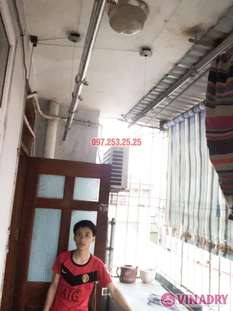Sửa giàn phơi quần áo nhà anh Hải, căn 1508 tòa OCT2 KĐT Xuân Phương, Nam Từ Liêm, Hà Nội - 04