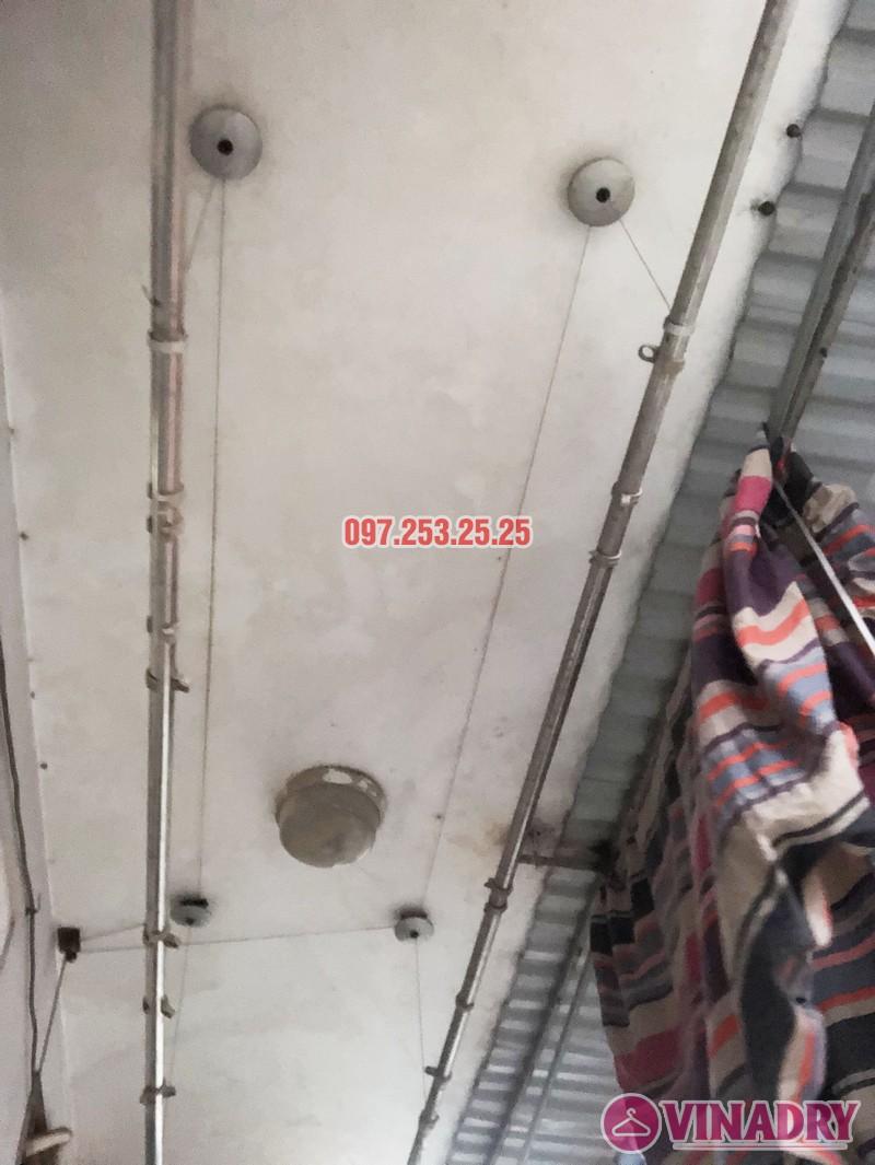 Sửa giàn phơi quần áo nhà anh Hải, căn 1508 tòa OCT2 KĐT Xuân Phương, Nam Từ Liêm, Hà Nội - 05