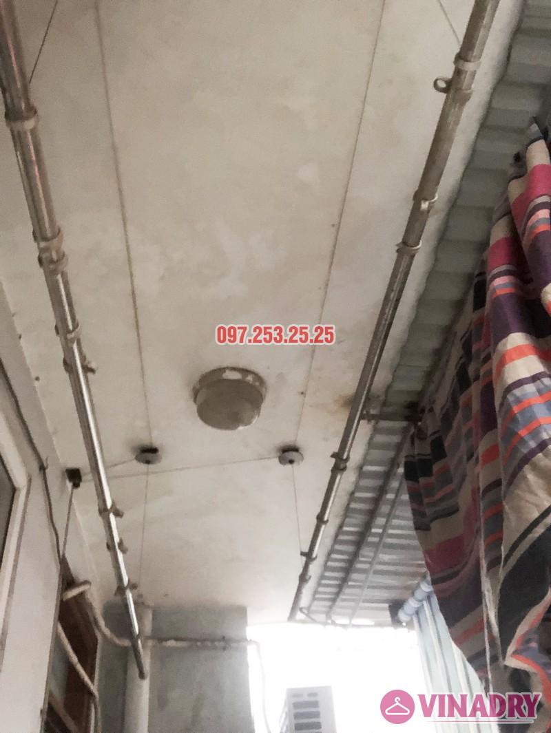 Sửa giàn phơi quần áo nhà anh Hải, căn 1508 tòa OCT2 KĐT Xuân Phương, Nam Từ Liêm, Hà Nội - 06