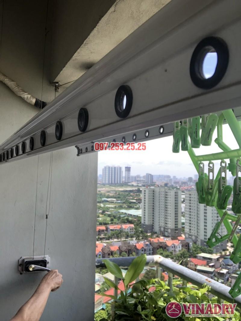 Sửa chữa giàn phơi quần áo nhà anh Tiến căn 310, tòa CT6C, KĐT Kiến Hưng, Hà Đông - 07
