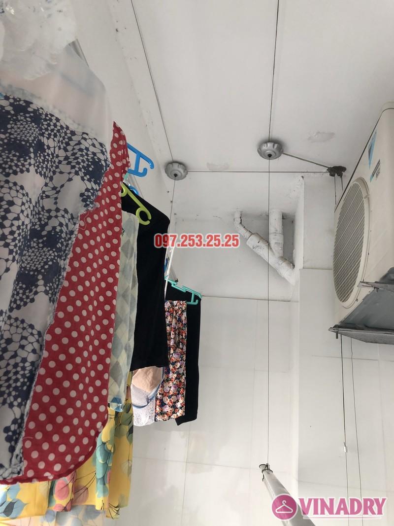Sửa giàn phơi thông minh Hoàng Mai nhà chị Lan, căn 1704 chung cư HH4A Linh Đàm - 01