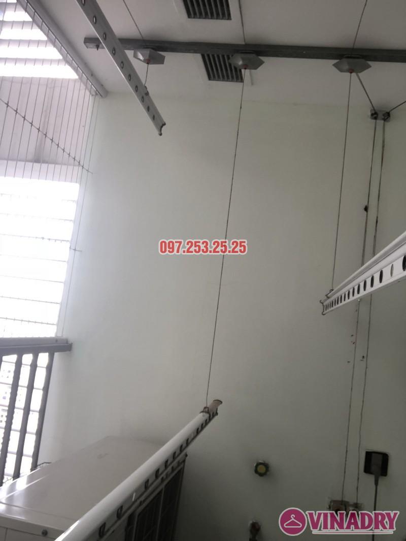 Sửa giàn phơi thông minh 999B nhà chị Thảo, căn 3406 chung cư Diamond Flower - 01