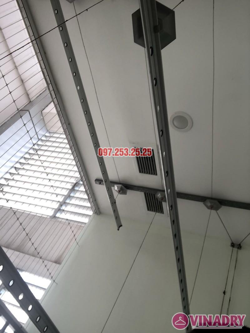 Sửa giàn phơi thông minh 999B nhà chị Thảo, căn 3406 chung cư Diamond Flower - 05