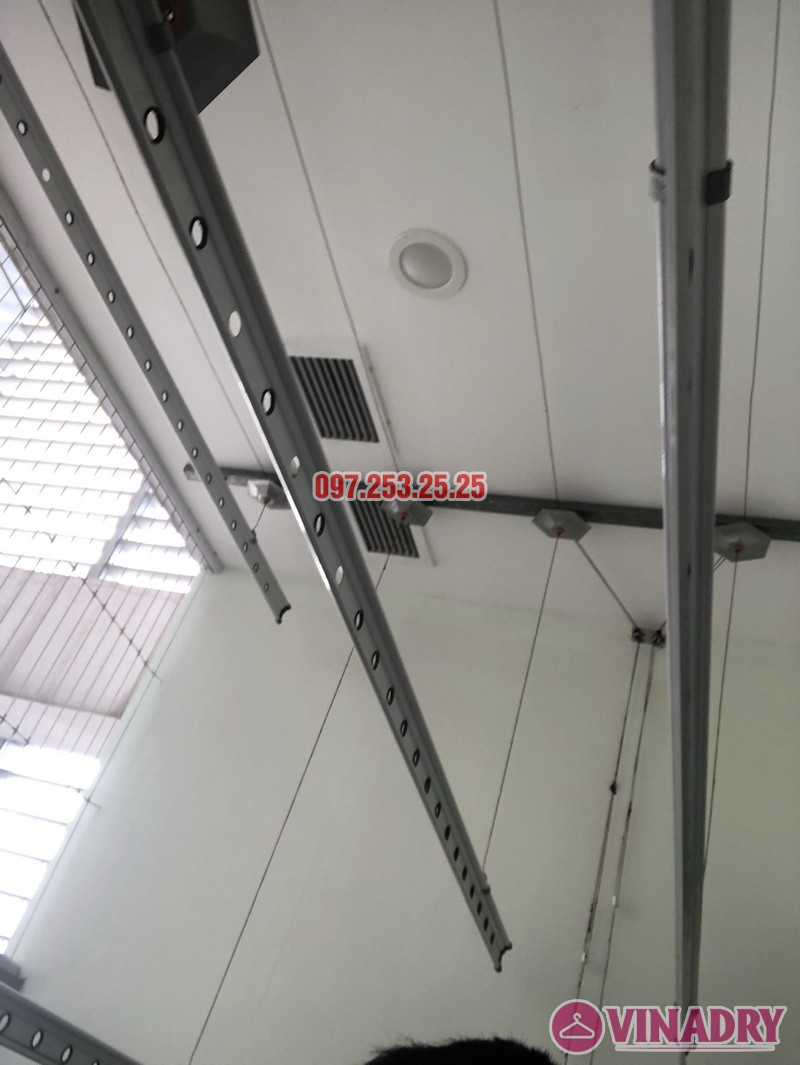 Sửa giàn phơi thông minh 999B nhà chị Thảo, căn 3406 chung cư Diamond Flower - 06