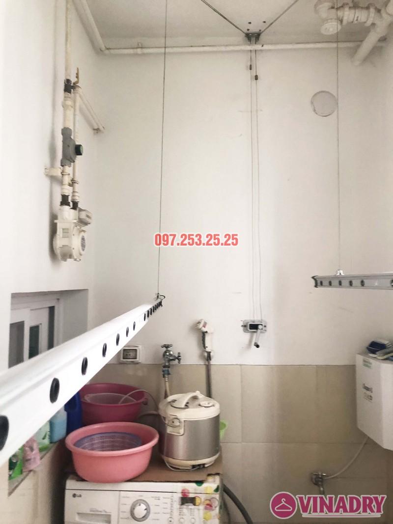 Sửa giàn phơi thông minh nhà chị Mơ, căn 903 tòa CT5, Hyundai Hillstate Hà Đông - 02