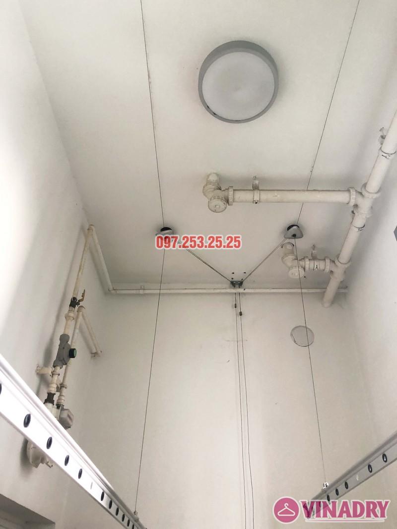 Sửa giàn phơi thông minh nhà chị Mơ, căn 903 tòa CT5, Hyundai Hillstate Hà Đông - 04