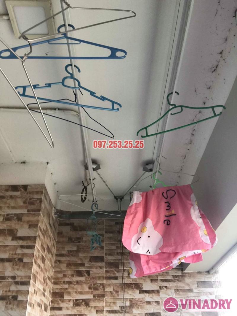 Sửa giàn phơi thông minh Thanh Xuân nhà chị Hảo, chung cư Star Tower - 01