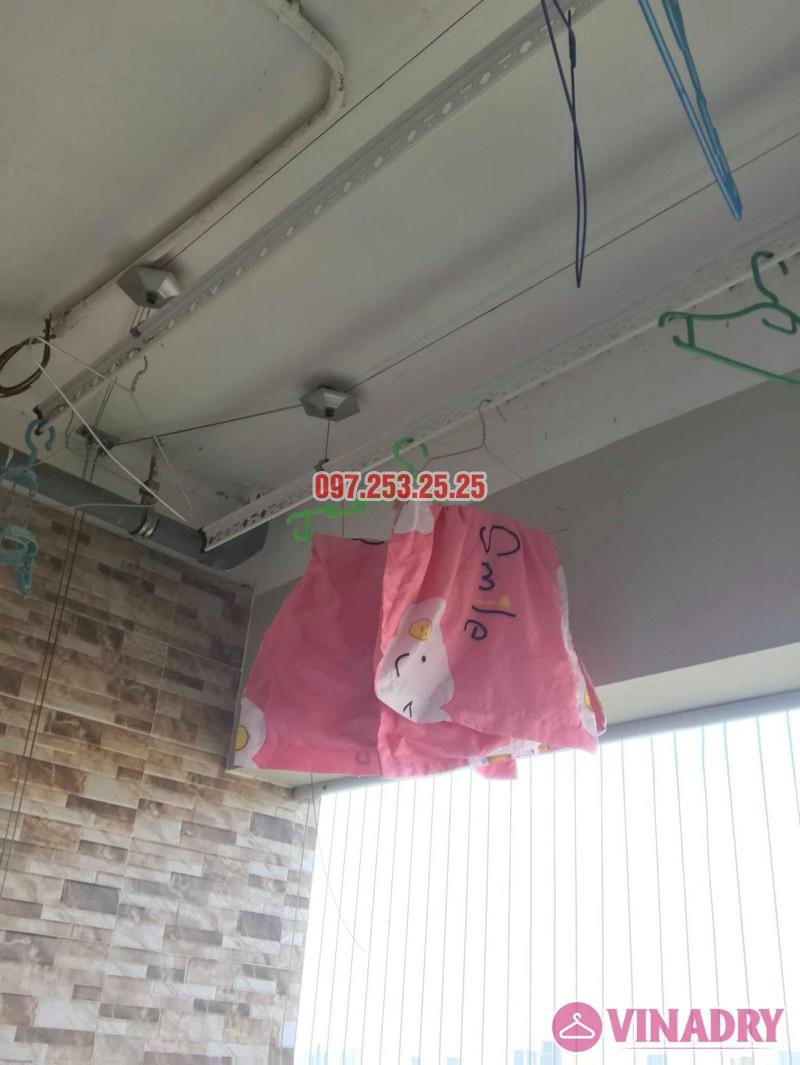 Sửa giàn phơi thông minh Thanh Xuân nhà chị Hảo, chung cư Star Tower - 03