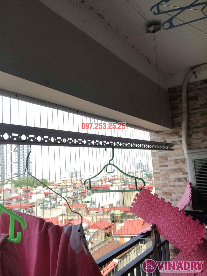 Sửa giàn phơi thông minh Thanh Xuân nhà chị Hảo, chung cư Star Tower - 04