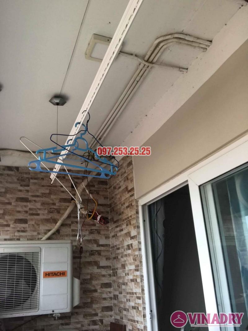 Sửa giàn phơi thông minh Thanh Xuân nhà chị Hảo, chung cư Star Tower - 05