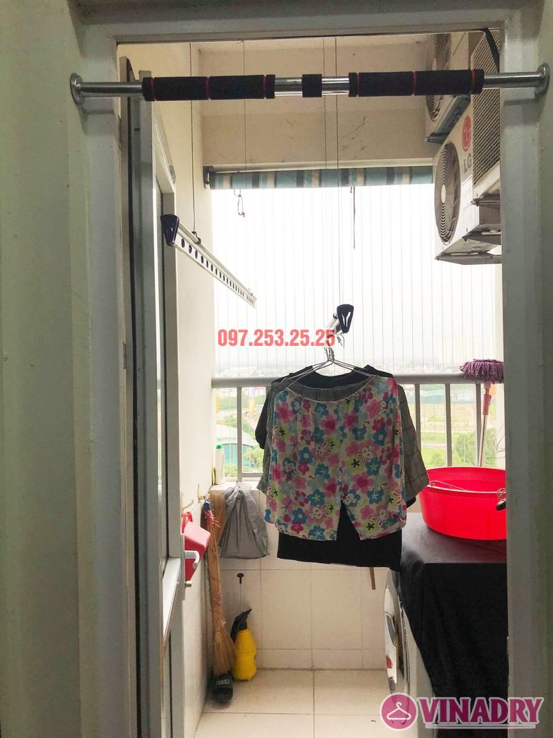 Sửa giàn phơi quần áo nhà chị Hạnh tòa CT12B, KĐT Kim Văn Kim Lũ, Hoàng Mai, Hà Nội - 01
