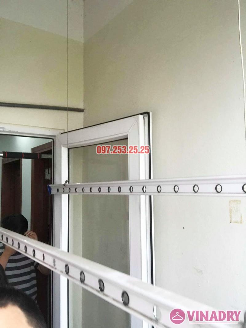 Sửa giàn phơi quần áo nhà chị Hạnh tòa CT12B, KĐT Kim Văn Kim Lũ, Hoàng Mai, Hà Nội - 03