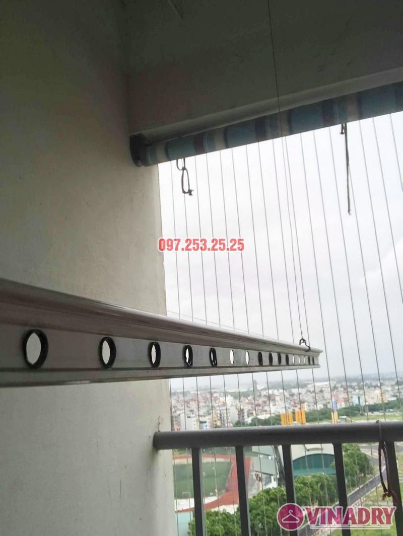 Sửa giàn phơi quần áo nhà chị Hạnh tòa CT12B, KĐT Kim Văn Kim Lũ, Hoàng Mai, Hà Nội - 05