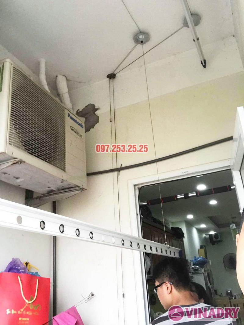 Sửa giàn phơi quần áo nhà chị Hạnh tòa CT12B, KĐT Kim Văn Kim Lũ, Hoàng Mai, Hà Nội - 06