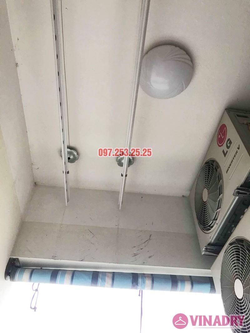 Sửa giàn phơi quần áo nhà chị Hạnh tòa CT12B, KĐT Kim Văn Kim Lũ, Hoàng Mai, Hà Nội - 07