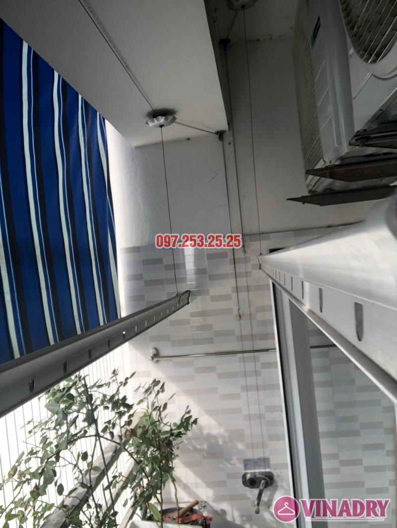 Sửa giàn phơi tại Hoàng Mai chung cư VP3 Linh Đàm nhà chị Minh, căn 2820 - 02